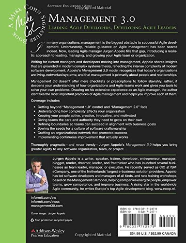 Amazon Fr Management 3 0 Leading Agile Developers