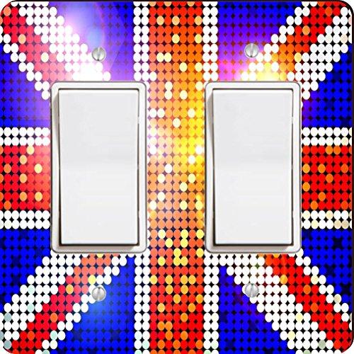 Rikki Knight 1996 Double Rocker Sparkling Flag of Great B...