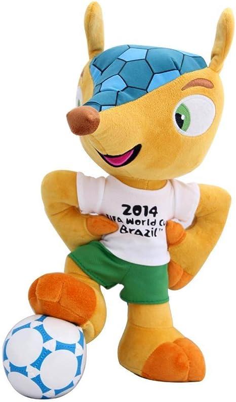 FIFA Fuleco - Peluche con balón de fútbol, diseño de Mundial de ...
