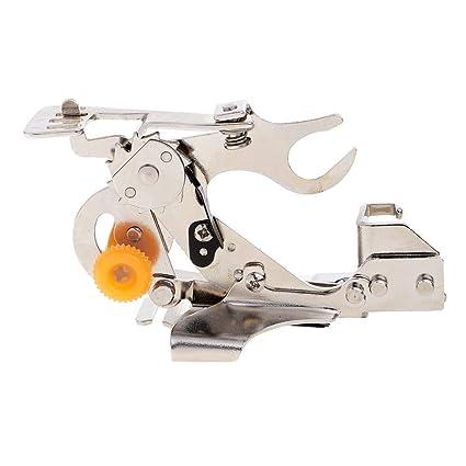 Sharplace Ruffler Pie de Prensatelas Accesorios para Máquina de Costura Doméstica