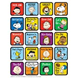 Paper Magic Group Eureka Peanuts Motivational Theme Stickers