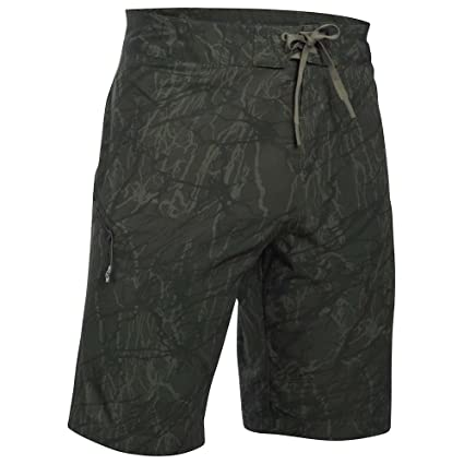 00a5f36f7aaa5 Under Armour UA Reblek Printed Boardshort - Men s Downtown Green Foliage  Green Black 28