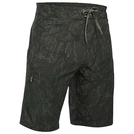 d4913dd226 Under Armour UA Reblek Printed Boardshort - Men's Downtown Green/Foliage  Green/Black 29
