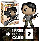 Prison Glenn Rhee: Funko POP! x Walking Dead Vinyl Figure + 1 FREE Official Walking Dead Trading Card Bundle [42417]