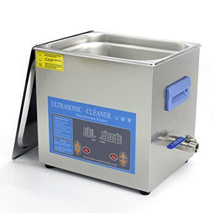 Cleaning & Janitorial Supplies Digital Stainless Ultrasonic Cleaner Ultra Sonic Bath Cleaning Timer Tank Heat