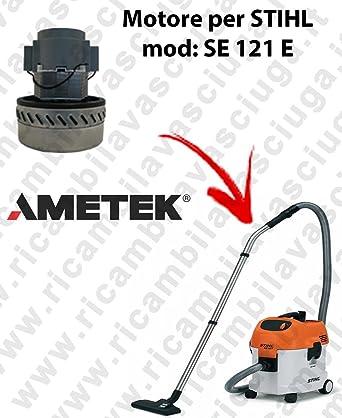 Motor aspiración ametek para aspiradora se 121 y – Stihl: Amazon.es: Industria, empresas y ciencia