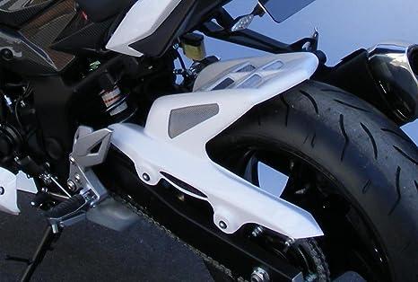 Embellecedor trasero para Suzuki GSR750 11-14, color blanco y dorado