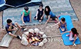 Extending Marshmallow Roasting Sticks- 32 Inch. Set of 8 Telescoping STAINLESS STEEL Smores Skewers & Hot Dog Forks.Campfire, fire pit & Camping Cookware . SAFE FOR KIDS. FREE Bag. by anytime family.