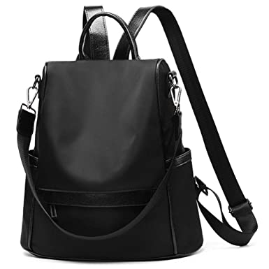 29012c5ec03d Amazon.com  Women Backpack Purse Waterproof Anti-theft Rucksack Travel  Daypack Shoulder Bag  Clothing