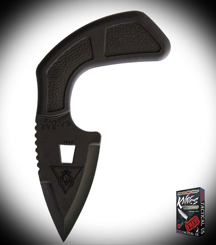 New TDI Shark Bite One Piece Black Ultramid Handle ProTactical Elite Knife w/Neck Sheath 0971RT + Free eBook