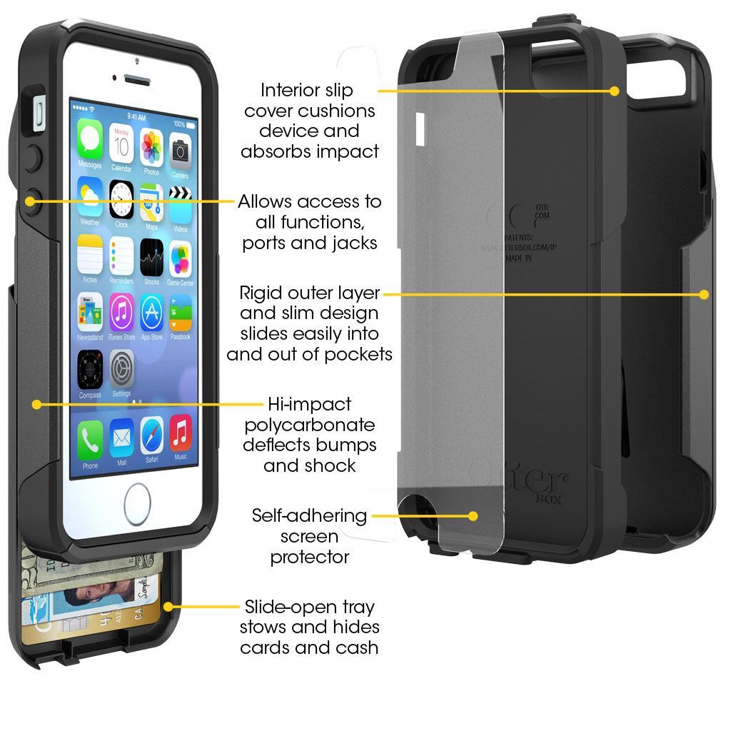 Iphone  Commuter Series Wallet