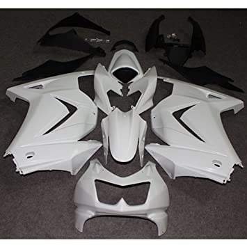 ZXMOTO Unpainted Fairing Kit for KAWASAKI NINJA 250R EX250 2008 2009 2010 2011 2012