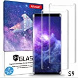 Glass Screen Protector for Samsung Galaxy S9, 3D Curved 9H Hardness Tempered Glass, High Definition, Case Friendly…