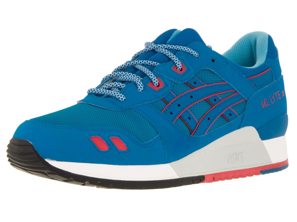 ASICS Men's Gel-Lyte III Running Shoe B00ZQ6IRYY 9.5 M US Women / 8 M US Men|Mid Blue/Mid Blue
