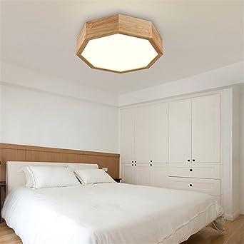 BRIGHTLLT Japanische Lampen Fernbedienung Wohnzimmer Lampe Studie ...