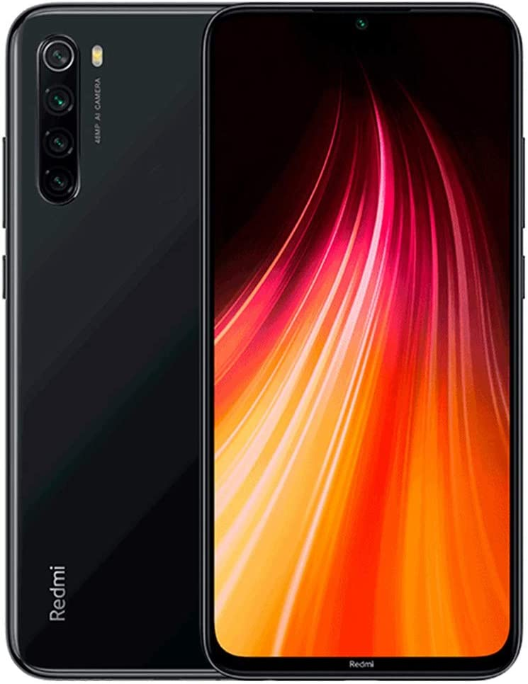 Xiaomi Redmi Note 8 64GB + 4GB RAM, 6.3″ LTE 48MP Factory Unlocked GSM Smartphone – International Version (Space Black)