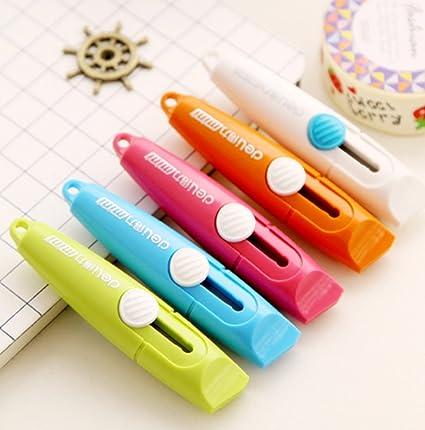 Amazon.com: Mini Cute Small Candy Color Paper Letter Box Cutter