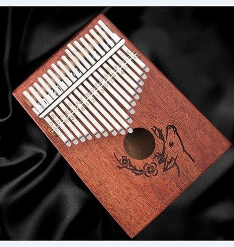 NDFDG Carinba Thumb Guitarra 17 Tono Kalimba Finger Piano ...