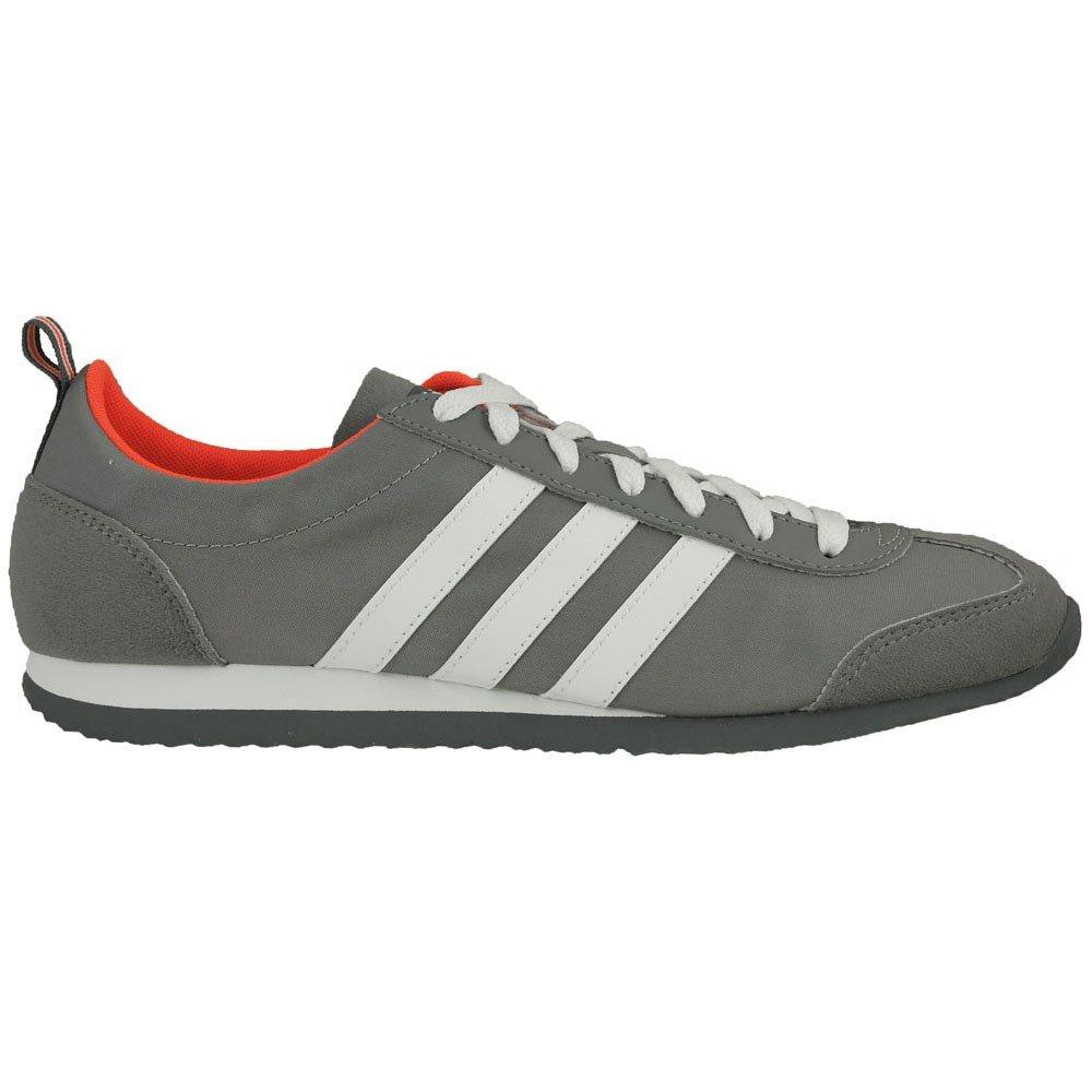 Adidas Vs Jog, Zapatillas de Running para Hombre 40 2/3 EU|Gris (Gris / Ftwbla / Rojsol)