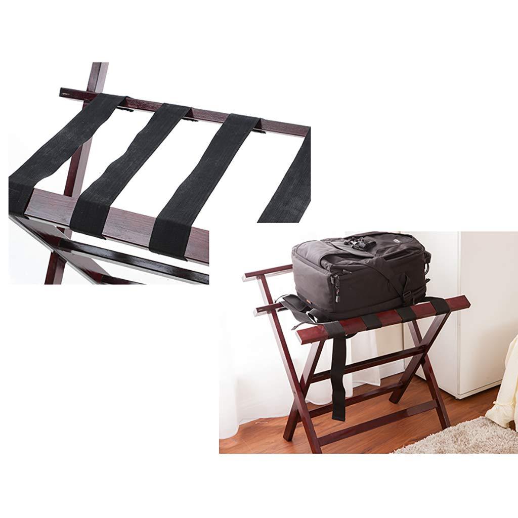Gepäckablage für Hotels Kleiderständer Landefalte aus aus aus massivem Holz Gepäckablage (Farbe   B) B07K519FTZ Kofferstnder bffd59
