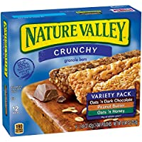 6-Pack of 12-Count Nature Valley Crunchy Granola Bar Variety Pack (Oats 'n Dark Chocolate, Peanut Butter, Oats 'n Honey)