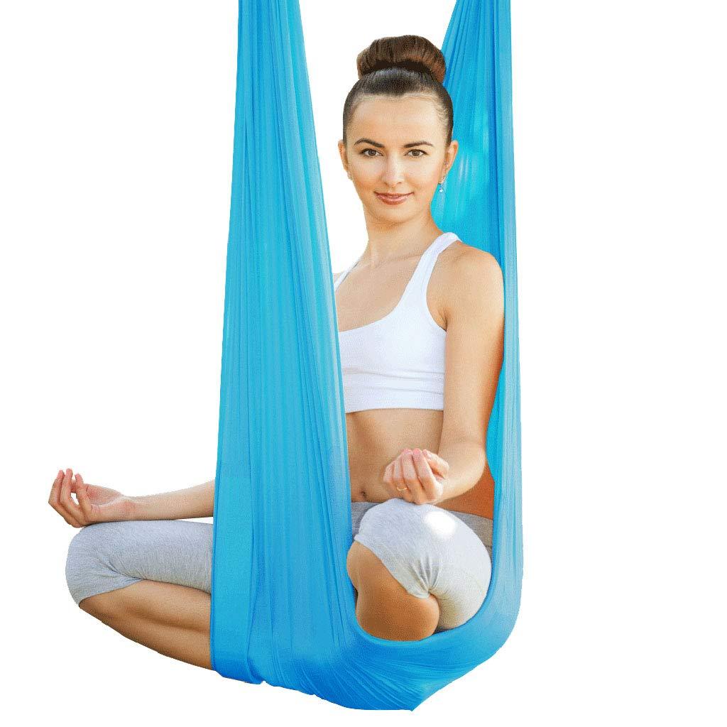 Yoga Aerial Aerial Hängematte Indoor Höhe Hängematte Anti-Schwerkraft Schaukel Aerial Soft Set Inverted Praxis Zubehör Hängematte, Tragende Ca. 300kg Aerial Fitness