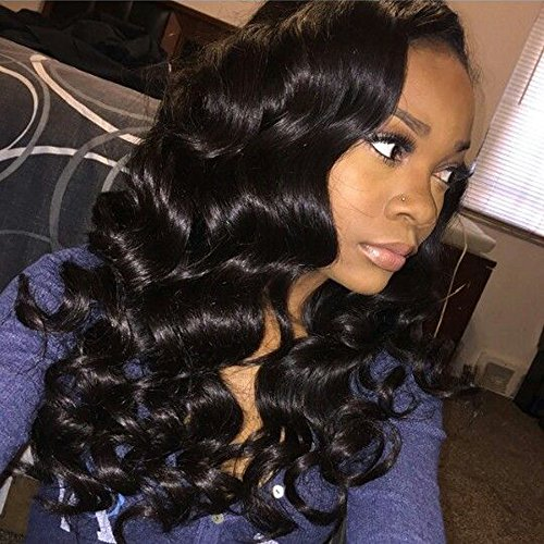 Remi Deep Wave - Glamorous Remi Peruvian Loose Wave Virgin Hair Loose Deep Wave Peruvian Bundles Hair Unprocessed Human Hair Ocean Wave Extensions Natural Black Color (18 20 22inch)