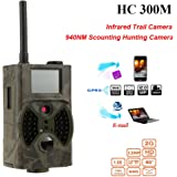 12 MP HD 1080p Wildlife Camera Remote Controller Chasse Camera vidéo GSM/GPRS/MMS/SMS Digital infrarouge Trail Caméra