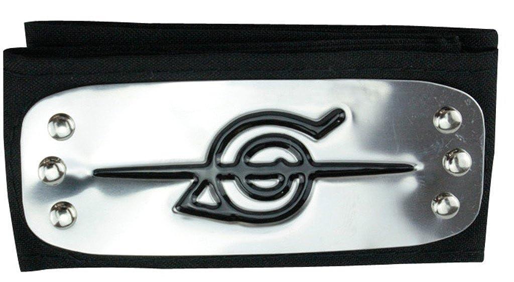 Ys&Ts Naruto Konoha Village Ninja Shinobi Cosplay Headband (Anti-Ninja)