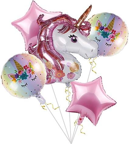 Amazon.com: Globos de unicornio Staraise para decoración de ...