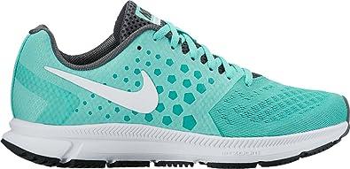 Zapatillas de running Nike Air Zoom Span para mujer nuevas, azul turquesa / blanco 6: Amazon.es: Zapatos y complementos