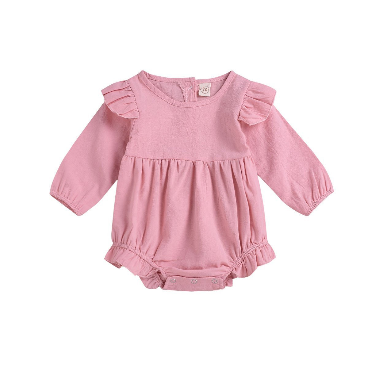 06122bd23f5b Amazon.com  Xmas gift Baby Girl Birthday Clothes Twins Bodysuit Newborn  Romper Infant Ruffles Onesies Princess Sunsuit Outfit  Clothing