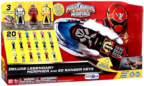 Power Rangers Super Megaforce Silver Morpher