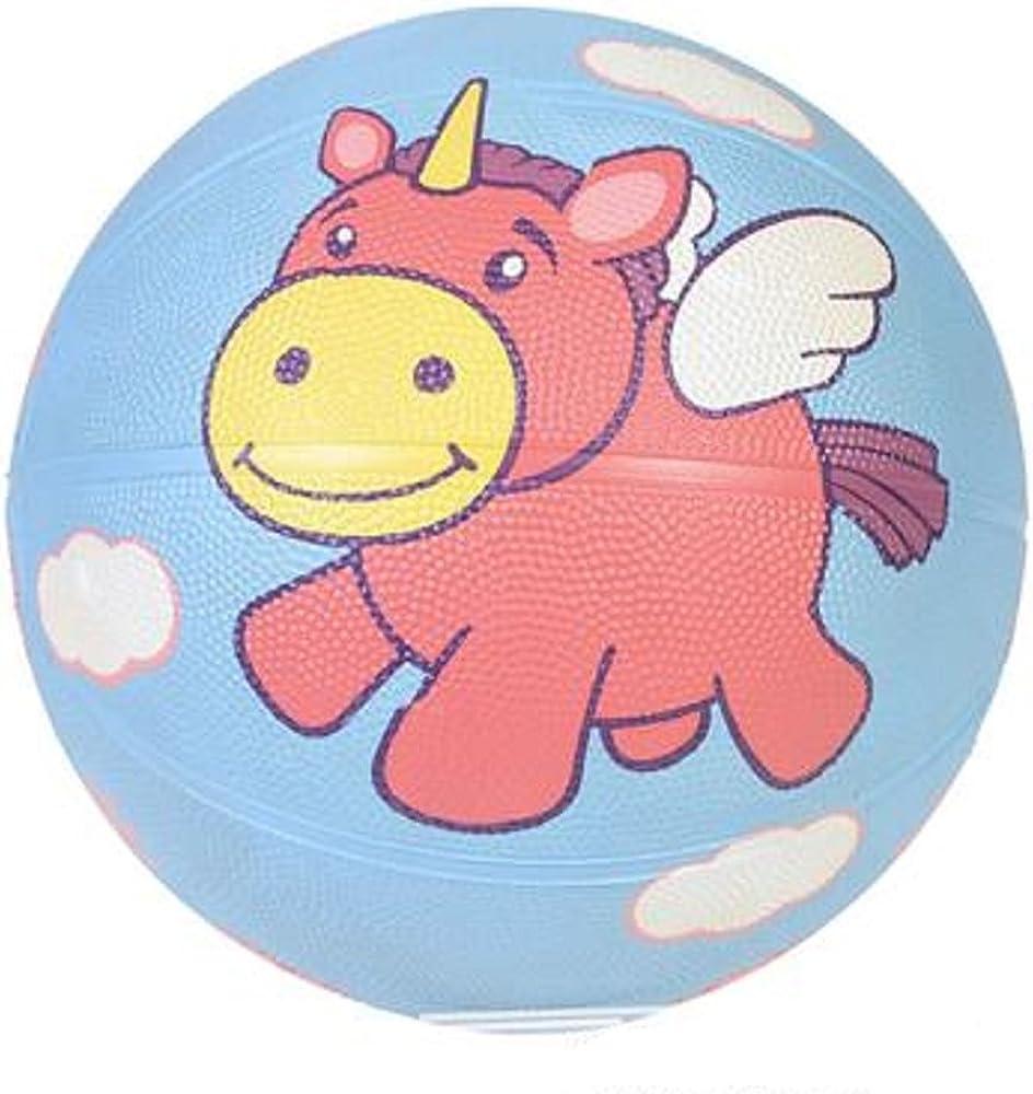 Pelota de baloncesto de unicornio de 9.5 pulgadas, multicolor. Dos ...