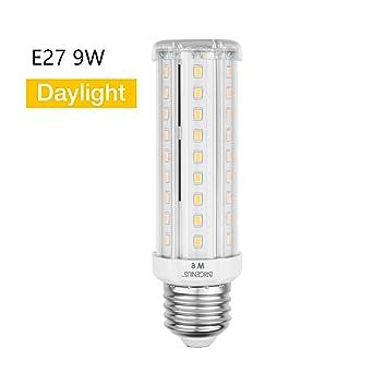 Led Lampen E27.E27 Led Beleuchtung Led Leuchtmittel Maiskolben Ersatz 70w Kaltesweiss Energiesparlampe 9w Fur Wandlampen Tischlampen Deckenlampen Kuche 6500k