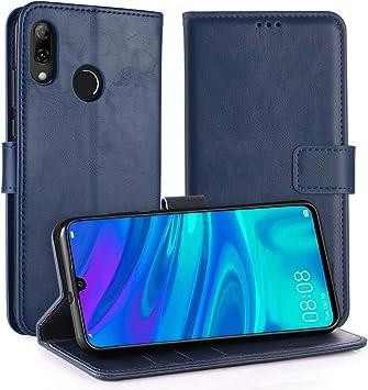 Simpeak Funda Compatible con Huawei P Smart 2019 / Honor 10 Lite, Funda Libro Compatible con Huawei P Smart 2019 Soporte Plegable/Ranuras Compatible con Tarjetas, Azul: Amazon.es: Electrónica