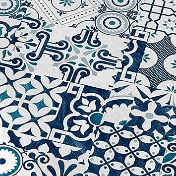 buntes Mosaic Dekor 8mm Musterst/ück FALQUON Laminat Q013 Agura Matt