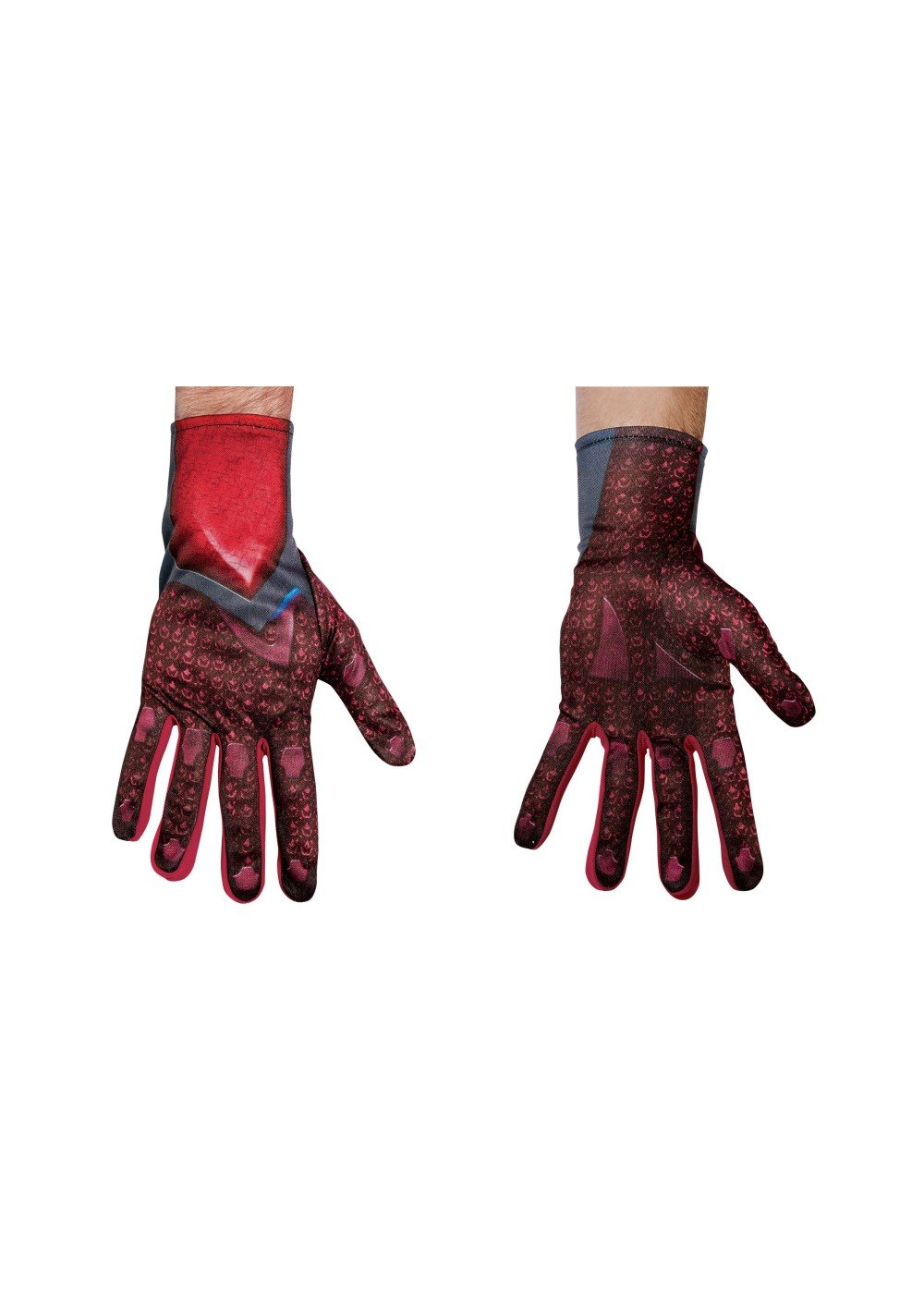 Disguise 2017 Red Ranger Adult Gloves Standard