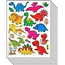 Jazzstick 110 Small Glitter Cute Dinosaur Scrapbook Stickers for Kids 10 sheets 09A17