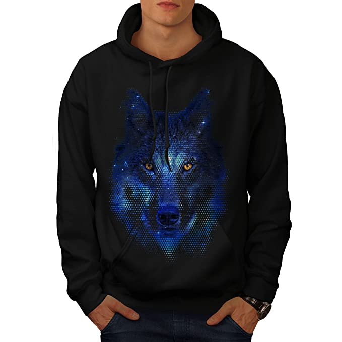 Movie Casual Pullover Jumper Wellcoda Forest Wolf Pixel Life Womens Sweatshirt
