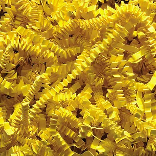 1/2 LB Crinkle Cut Paper Shred, Yellow]()