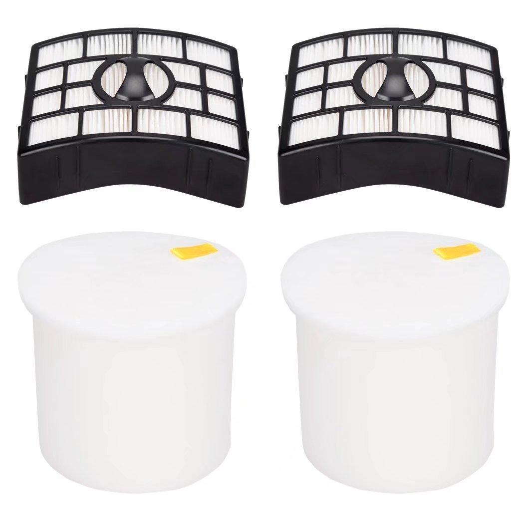 EcoMaid Foam & Felt Filters for Shark Rotator Pro Lift-Away NV650 NV651 NV652 NV750 NV751 NV752 NV753 Part # XFF650 & XHF650