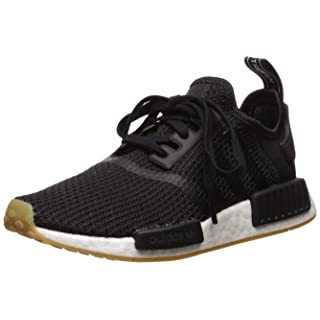 adidas Originals Men's NMD_r1 Shoe, Core Black/Gum, 4 M US