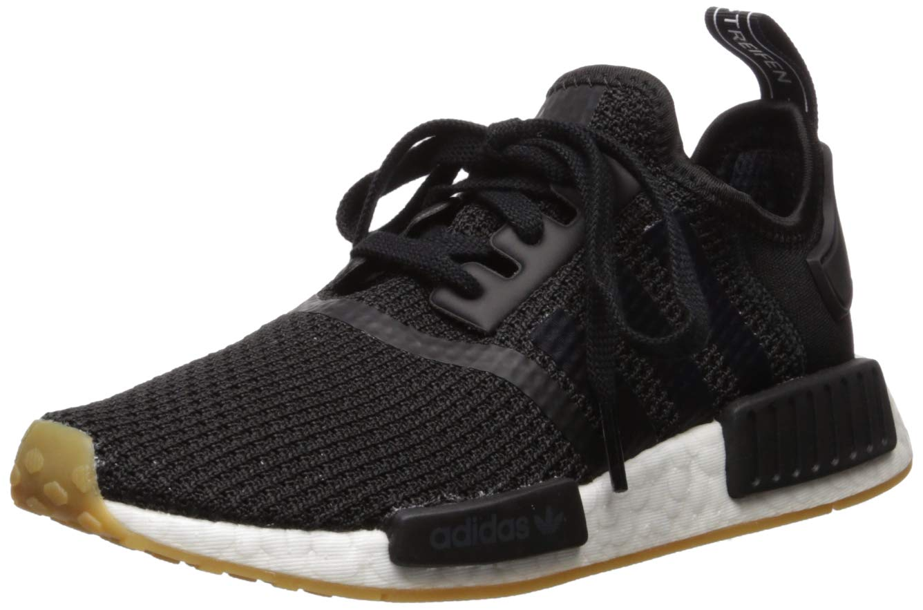 adidas Originals Men's NMD_r1 Shoe, Core Black/Gum, 13.5 M US