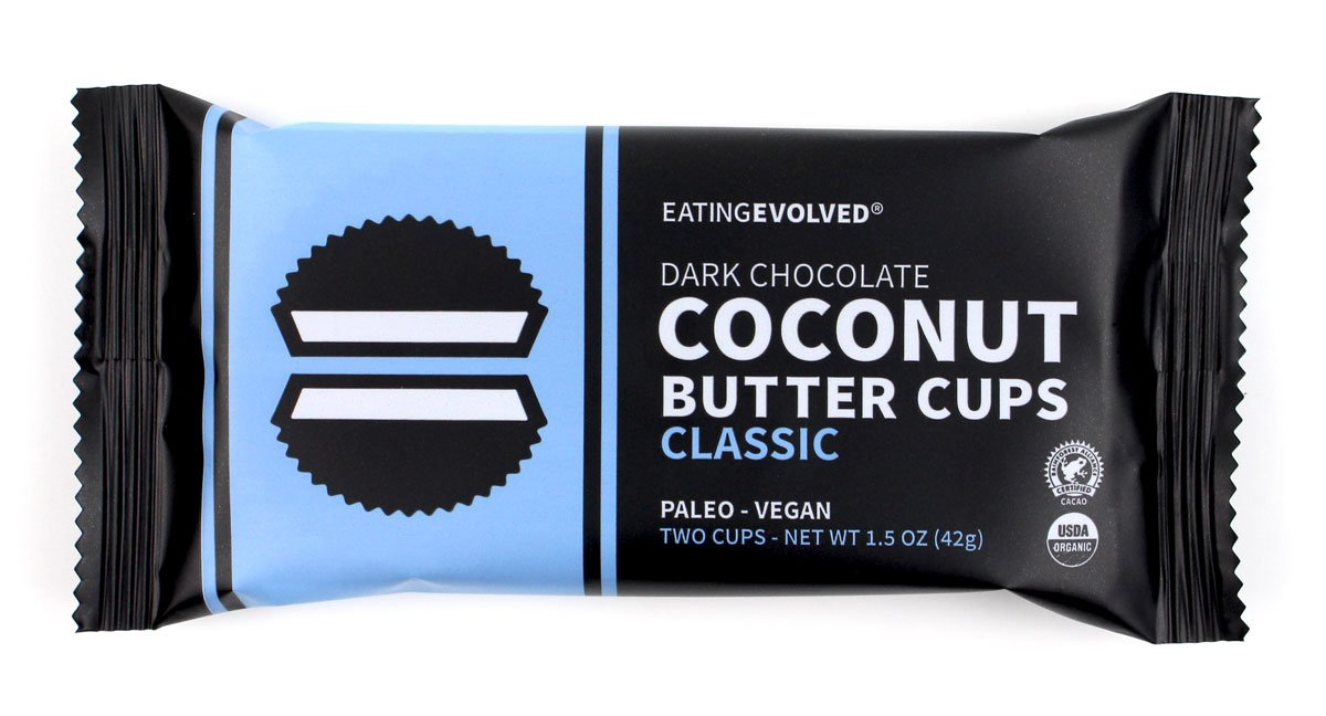 Eating Evolved - Organic Coconut Butter Cups, Classic, 1.5 oz each (9 Count)