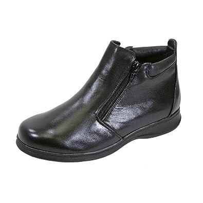 66f35c55e24 Peerage FIC Juliet Women Extra Wide Width Ankle Bootie Black 5