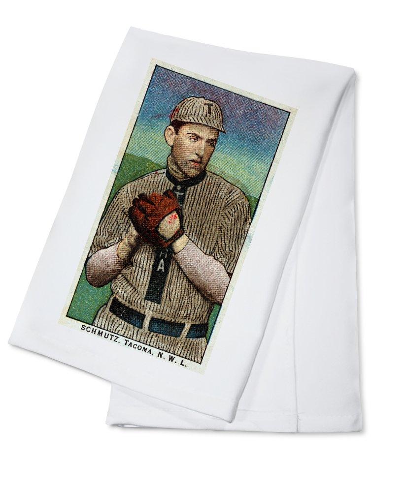 タコマNorthwestern League – Schmutz – 野球カード Cotton Towel LANT-23618-TL Cotton Towel  B0184BAUDS