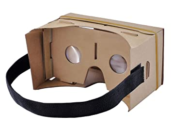 Cardboard Vr Brille Basteln : Iso trade vr goggle cardboard diy d virtual reality amazon