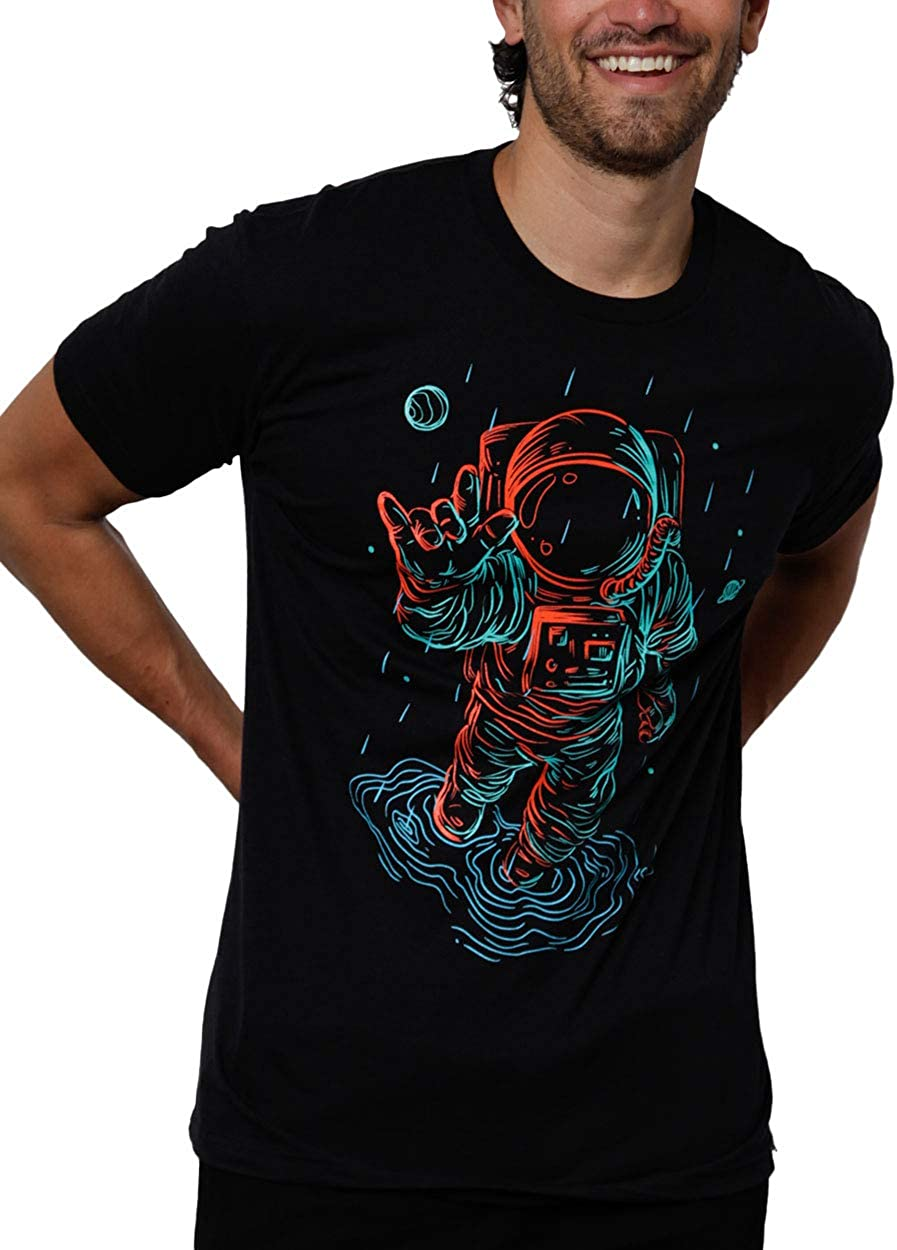 INTO THE AM Men's Graphic Tees - Novelty Graphic T-Shirts with Cool Designs