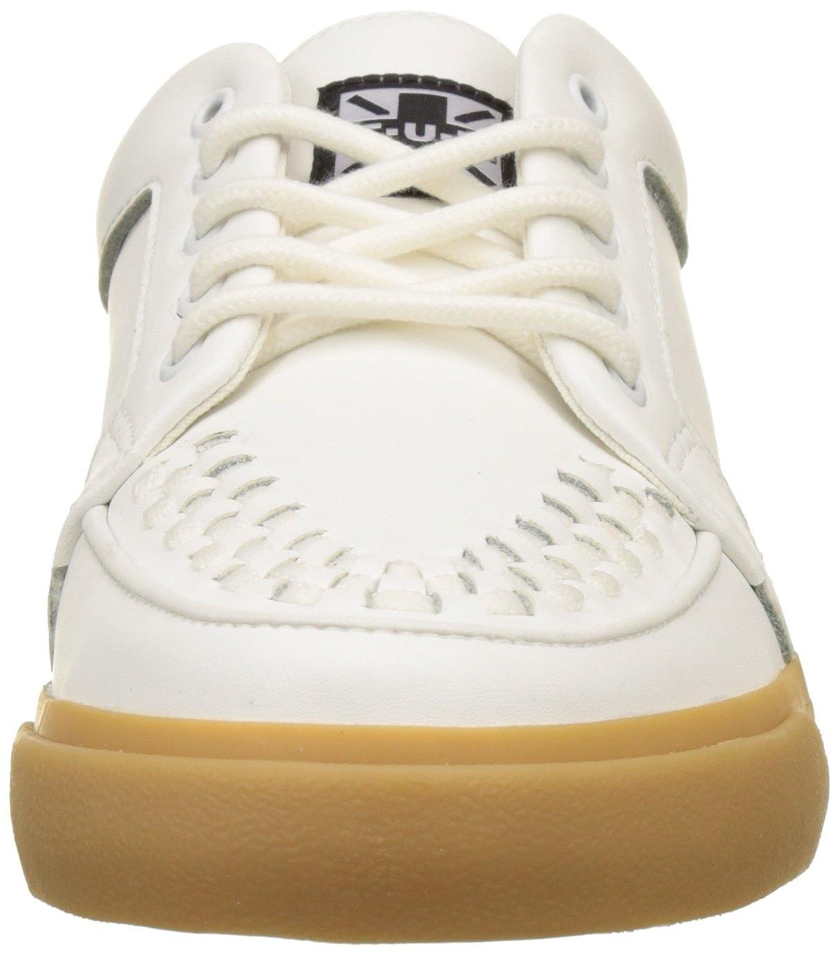 Creeper Basses kVlk SoleBaskets Sneaker Wht u Gum T Mixte Leath 34jqc5ARLS